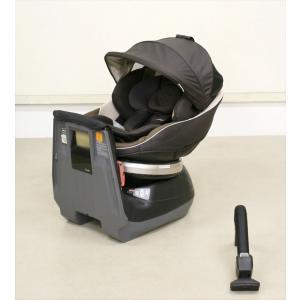 送料無料 ネルーム エッグショック NC-470 モカブラウン シートベルト固定 新生児OK クリーニング済み B540009|kidsfan