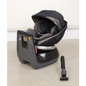 送料無料 ネルームエッグショックNC-520 チタングレー コンビ シートベルト固定 新生児OK クリーニング済み D927003|kidsfan