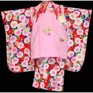 七五三 着物 3歳  753 女の子 被布セット 旧式部浪漫柄被布コートフルセット  1|kidskimonoyuuka