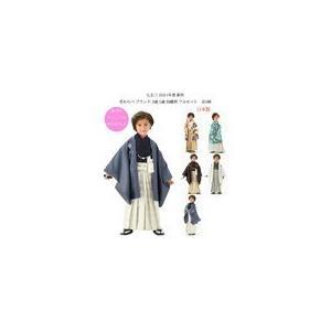 花わらべ 七五三着物 753 3歳着物  3歳紋付羽織 袴のフルセット 2019年 WI32S|kidskimonoyuuka