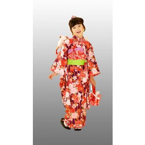 七五三着物 7歳着物 キクチリョウコ振り袖フルセット NO3|kidskimonoyuuka