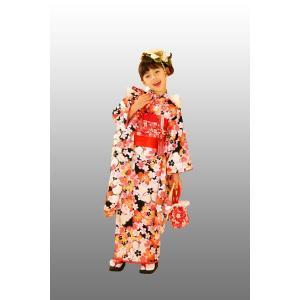 七五三着物 7歳着物 キクチリョウコ振り袖フルセット NO5|kidskimonoyuuka