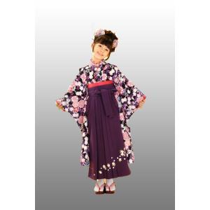 七五三着物 7歳着物 袴フルセット RYOKO KIKUCHI2|kidskimonoyuuka