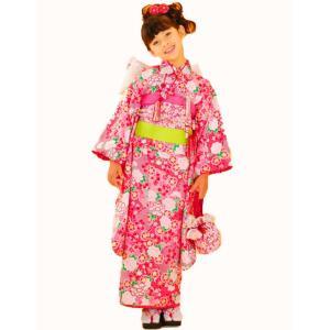 七五三着物 7歳着物 キクチリョウコ振り袖フルセット NO1|kidskimonoyuuka