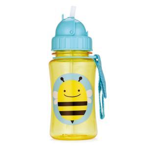 SKIP HOP アニマル ストロー ボトル ビー子供服キッズミオ 水筒 マグ ボトル 食事 保育園 出産祝い おしゃれ 子供用 幼児 こども 男の子 女の子|kidsmio