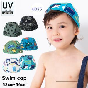 子供用 キッズ 男の子 スイムキャップ 水泳帽 スイミングキ...