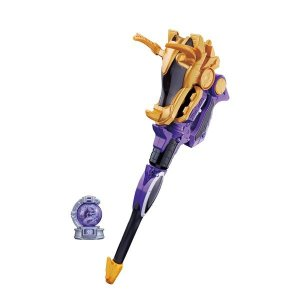 リュウコマンダーが使用する変身武器!!銃と杖の2モードに変形!キュータマをセットで光る鳴る、5モード...