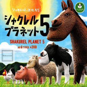 パンダの穴 シャクレルプラネット5 全6種セット (ガチャ ガシャ コンプリート)