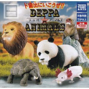デッパアニマルズ DEPPA ANIMALS 全5種セット (ガチャ ガシャ コンプリート) kidsroom