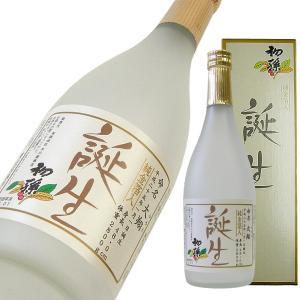 初孫 本醸造 誕生 純金箔入り 名入れラベル 720ml|kigawaya