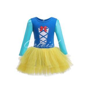 バレエドレス スノーホワイト白雪姫 風 プリンセスドレス コスプレ 子供ドレス  衣装 仮装 USJ C-19583362|kigurumishop