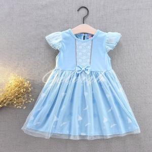 シンデレラ 風 プリンセスドレス コスプレ 子供ドレス  衣装 仮装 USJ C-19589343|kigurumishop