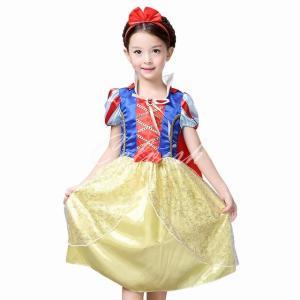 ディズニー ◇ コスプレ ドレス スノーホワイト 白雪姫 風 プリンセスドレス 子供 ドレス  衣装  C-28548018|kigurumishop
