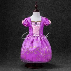 ab1ecac408765 ディズニー ◇ コスプレ ドレス プリンセス ソフィア 風 プリンセスドレス 子供 ドレス 衣装 仮装 USJ C-
