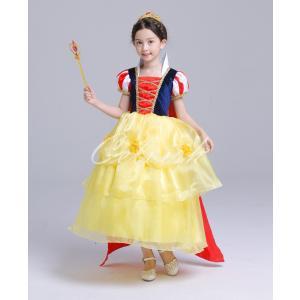 ディズニー ◇ コスプレ ドレス スノーホワイト 風 子供 ドレス プリンセスドレス 白雪姫 衣装 仮装 USJ C-2958S1699|kigurumishop