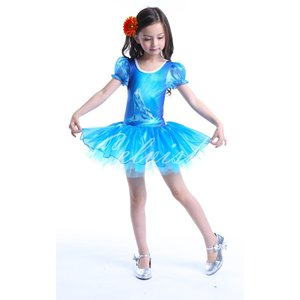 ディズニー ◇ コスプレ ドレス シンデレラ 風 プリンセスドレス 子供 バレエ ドレス 衣装 C-2965CI006|kigurumishop