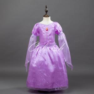 ディズニー ◇ コスプレ ドレス ラプンツェル 風 プリンセスドレス 子供 ドレス 衣装 USJ  C-2965LA001 kigurumishop