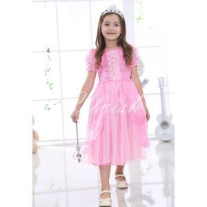 ディズニー ◇ コスプレ ドレス ラプンツェル 風 プリンセスドレス 子供 ドレス 衣装 USJ  C-2965LA002 kigurumishop