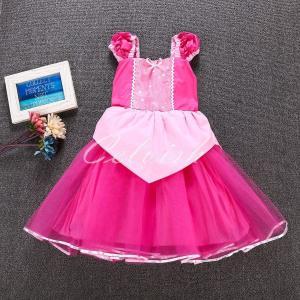 ディズニー オーロラ 風 プリンセスドレス 子供 衣装 USJ  C-30650E26|kigurumishop