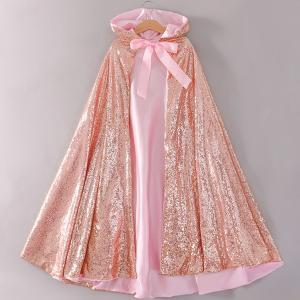 プリンセスドレス 子供 ドレス 衣装 キラキラ プリンセスマント ピンク ハロウィン クリスマス CEL-1342B211-P| セルビッシュアップ|kigurumishop