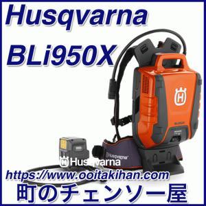 ハスクバーナ背負い式バッテリーBLi950X|kihan