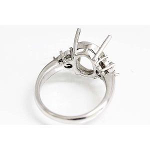 kj060【オーバル12ミリ×10ミリ】ダイヤ入りリング空枠|kiho|03