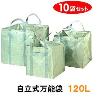 自立式万能袋 120L 10袋セット 約50cm×50cm×50cm|kiitos-shop