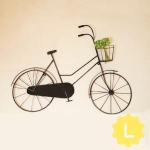 アンティーク風インテリア・小物 ――――――――――――  【ブリキウォール自転車 L型】 材 質:...