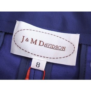 J&M DAVIDSON/ショートパンツ/紫/8/デヴィッドソン【レディース】【中古】【geejee_ss】6-0902S◎#|kiitti|03