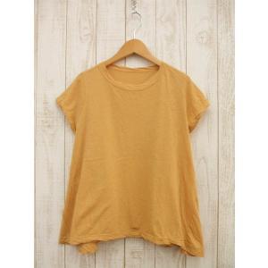 45rpm/ガーゼ天竺テントT-SHIRT/Tシャツ/2/定価¥12,420/18SS/フォーティフ...
