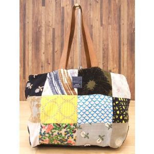 ミナペルホネン/mina perhonen/piece bag/トートバッグ【レディース】【中古】【geejee_1997】9-0202G★|kiitti