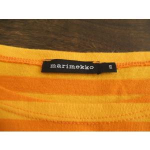 Marimekko/ボーダーカットソー/XS/マリメッコ【レディース】【中古】【geejee_mk】9-0117M△ kiitti 03