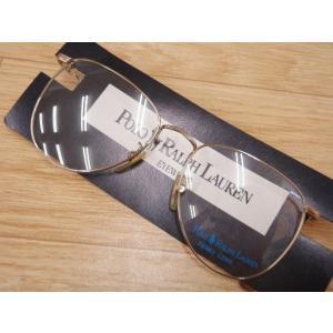 POLO RALPH LAUREN/ポロ/ラルフローレン/メガネフレーム/ゴールド系/MF67658【メンズ】【中古】【geejee_1997】8-0916G∞|kiitti