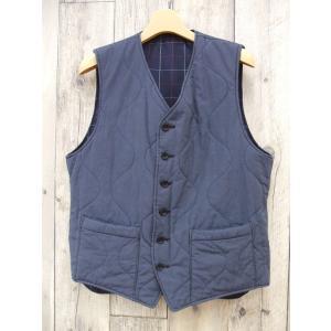 Engineered Garments/エンジニアードガーメンツ/リバーシブル/ベスト/中綿/サイズS/MF67725【メンズ】【中古】【geejee_aw】8-0922A∞|kiitti