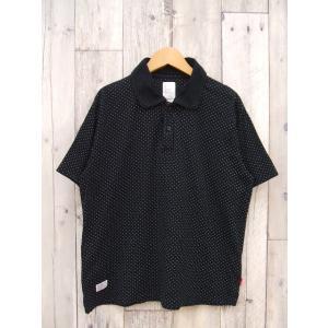 WTAPS/ダブルタップス/半袖ポロシャツ/ドット/ブラック/サイズS/BMF68680【ストリート】【中古】【メンズ】【geejee_ss】9-0307S♪|kiitti