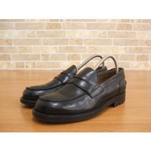 DOUCAL'S/1319/コインローファー/革靴/デュカルス/38 1/2【メンズ】【中古】【geejee_1997】8-1201G◎|kiitti