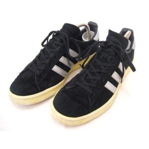 adidas/アディダス/CAMPUS/キャンパス/Q21640/ブラック/シルバー/26.5/US8.5/CMF69569【ストリート】【メンズ】【中古】【geejee_mk】9-0307M∞|kiitti