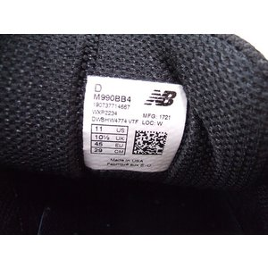 NEW BALANCE/ニューバランス/M990BB4/USA/アメリカ/スニーカー/靴/29/BMF71599【中古】【メンズ】【geejee_1997】9-0510G♪|kiitti|05