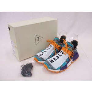 adidas/アディダス/BB9528/PHARRELL WILLIAMS SOLAR HU NMD/スニーカー/ファレル/275/BMF71853【中古】【メンズ】【geejee_1997】9-0519G♪|kiitti