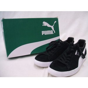 PUMA/プーマ/361703-01/Clyde B&C/スニーカー/黒/28【メンズ】【中古】【geejee_1997】9-0721G☆ kiitti