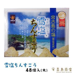雪塩 ちんすこう (大) 48個入り (2×24...の商品画像