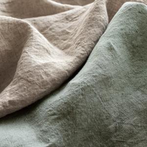 生地 布 | 洗いこまれたベルギーリネンローン 1/60番手|kijinomori|02