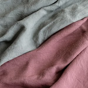 生地 布 | 洗いこまれたベルギーリネンローン 1/60番手|kijinomori|06