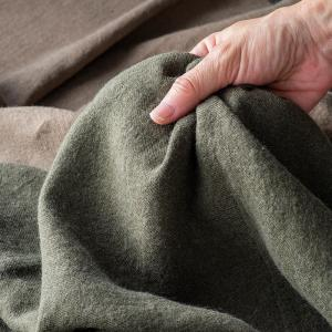 生地 布 | 洗いこまれた綾織リネンウール|kijinomori|03