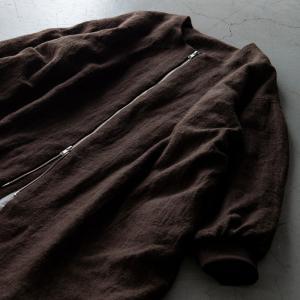 生地 布 | 洗いこまれた綾織リネンウール|kijinomori|05