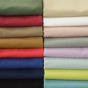 ワイド幅│洗いをかけた 綿60アイディールローン 生地 無地 綿ローン 60ローン|kijishop-apuhouse