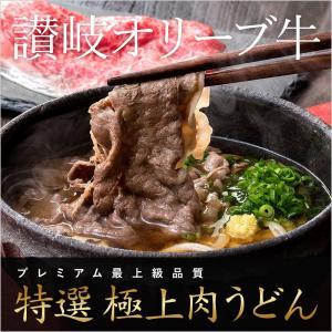 【特選】讃岐オリーブ牛 極上肉うどん【4食入】【18A01】|kijoanudon