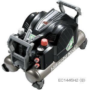 日立 高圧エアコンプレッサ(セキュリティ機能付)EC1445H2(B)ブラック|kikaikougusyoukoubun