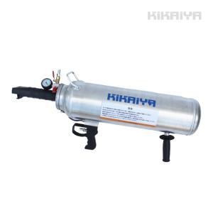 ビードブースター バズーカタイプ 12L エアービードシーター プッシュボタンバルブ開放式  KIKAIYA|kikaiya-work-shop