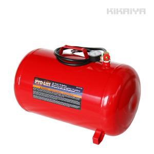 エアータンク 37.8L 10ガロン スチール製 携帯用 エアサブタンク エアー補助タンク エアタンク 軽量 タイヤ/パンク修理 KIKAIYA|kikaiya-work-shop